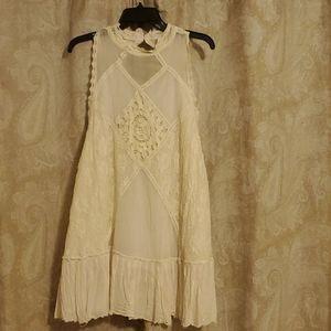 Free people linnon boho dress